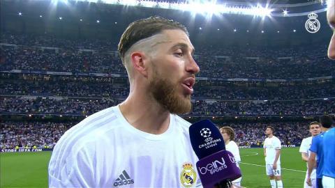 Sergio Ramos y Lucas Vázquez analizaron nuestro pase a la Final de Milán