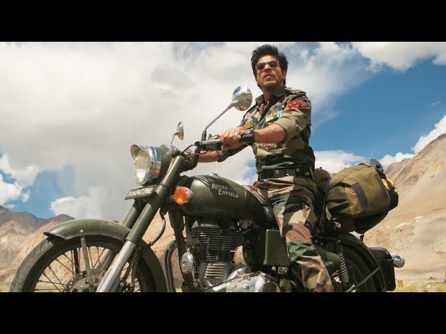 Shahrukh Khan bikes through Ladakh - Jab Tak Hai Jaan Poem