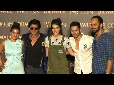 Manma Emotion Jaage OFFICIAL Song Launch | Shah Rukh Khan | Kajol | Kriti Sanon | Varun Dhawan