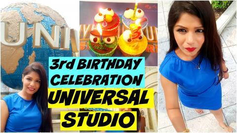 Third Birthday Celebration   Universal Studio Singapore   SuperPrincessjo