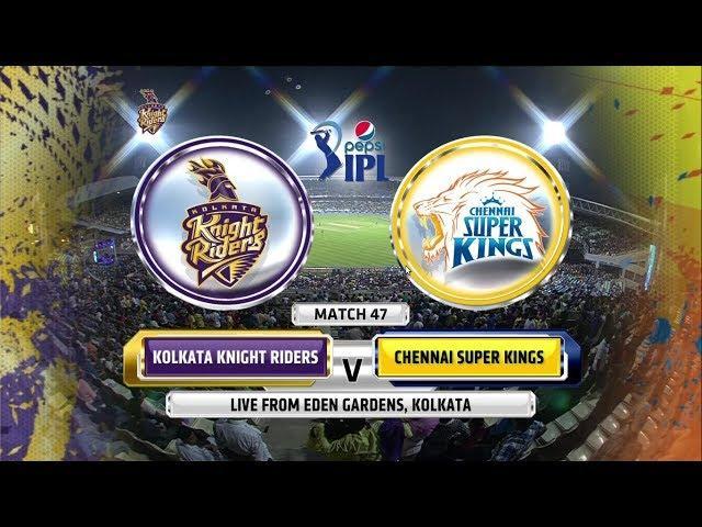Kolkata Knight Riders vs Chennai Super Kings: 47th Match Highlights (IPL 2014)