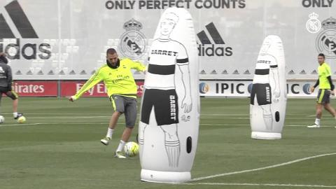Benzema is back...