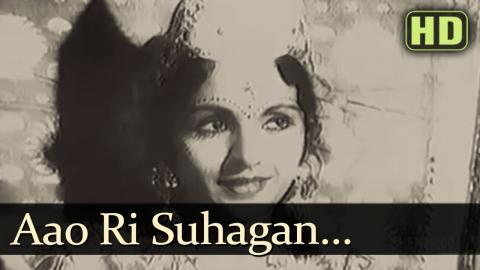 Aao Ri Suhagan - Ram Rajya Songs - Prem Adib - Shobhna Samarth