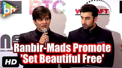 Ranbir Kapoor-Madhuri Dixit-Vivek Oberoi Promote 'Set Beautiful Free' Initiative