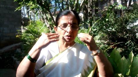 Dr R Nagarathna's 1-minute fitness mantra