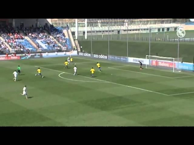 5-1: El Castilla golea en el Di Stéfano