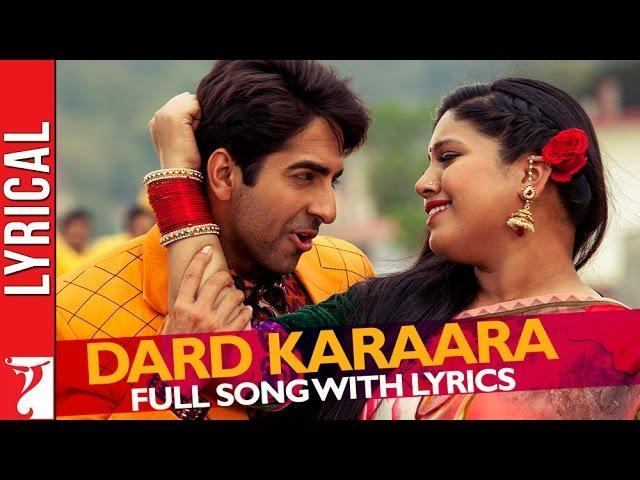 """Lyrical: """"Dard karaara"""" - Full Song with Lyrics - Dum Laga ke Haisha"""