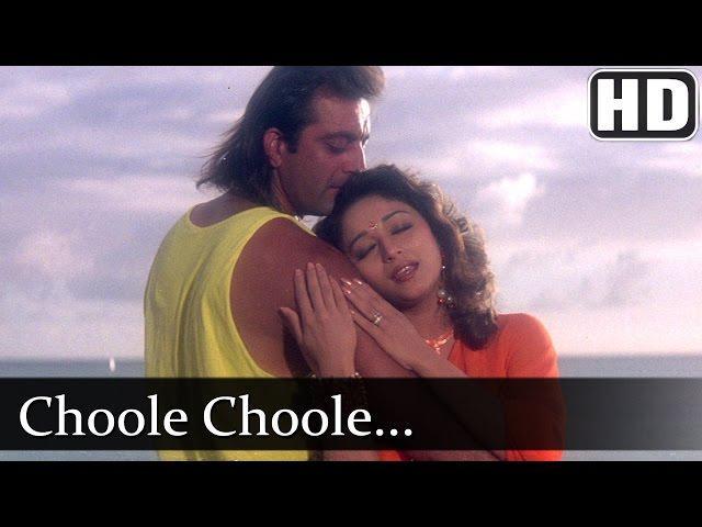 Chhoole Chhoole (HD) - Sanjay Dutt - Madhuri Dixit - Mahaanta - Popular Old Song