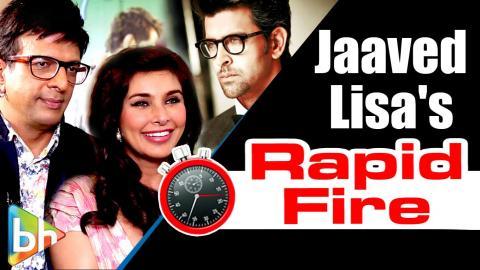Jaaved Jaaferi-Lisa Ray's Hilarious Rapid Fire On Aamir | Salman | Hrithik | Akshay