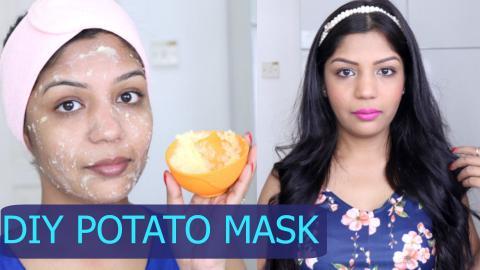 DIY Potato Face Mask for Skin Lightening and Pigmentation