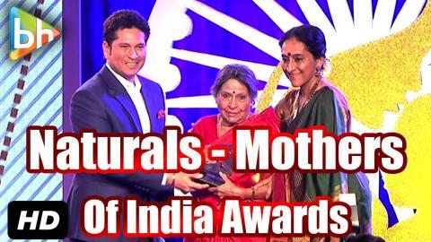 Bollywood Stars At 'Naturals - Mothers Of India Awards'