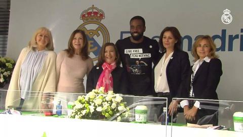 El Real Madrid colaboró con la Asociación Española Contra el Cáncer