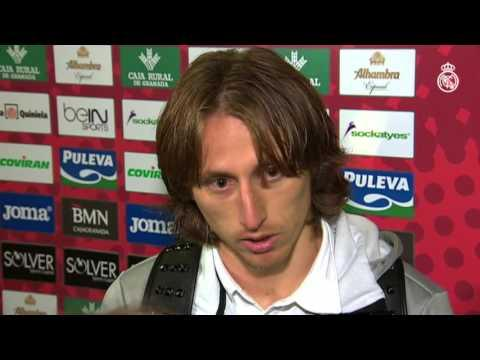 """Modric: """"El mister me dijo que tenía que tirar más"""""""
