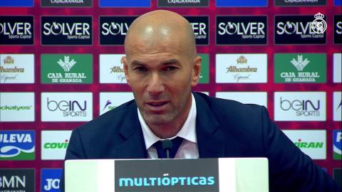 "Zidane: ""Hay que luchar cada partido"""