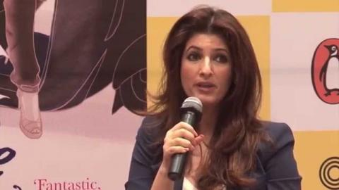 Twinkle Khanna At 'Mrs Funnybones' Book Reading Session