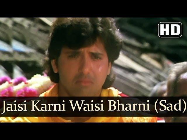 jaisi karni waisi bharni meaning in english