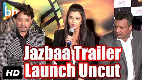 Trailer Launch Of Jazbaa | Irrfan Khan | Aishwarya Rai Bachchan: Event Uncut