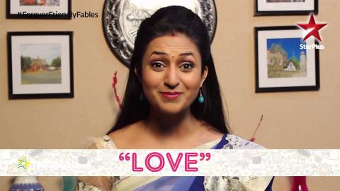 Friendship Day: Ishita gives the word 'Love'