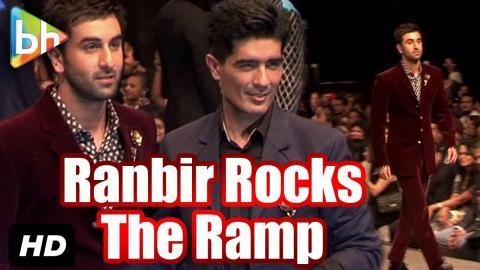 Ranbir Kapoor Showcases Manish Malhotra's 'The Gentlemen's Club Collection'