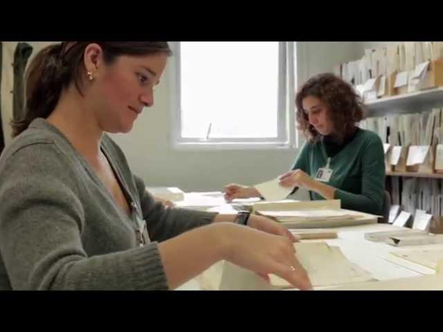 Animating the Archives – Conservation Volunteers