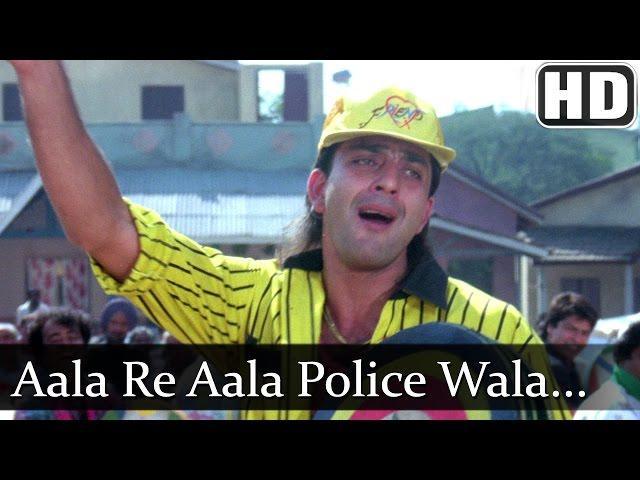 Aala Re Aala Police Wala (HD) - Sanjay Dutt - Mahaanta - Old Hit Song