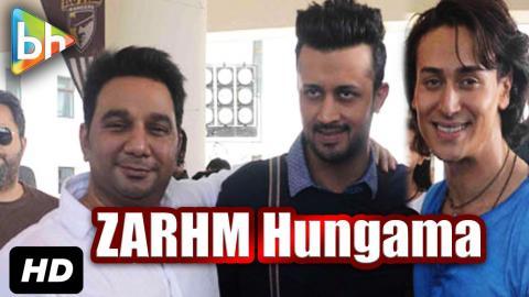 Exclusive: Tiger Shroff Atif Aslam Ahmed Khan's Interview On Zindagi Aa Raha Hu Main