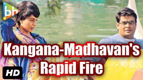 BH Exclusive: Rapid Fire With R Madhavan   Kangana Ranaut
