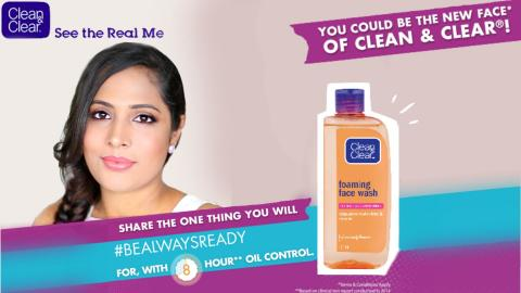 Long lasting oil control during summers   CLEAN & CLEAR #BeAlwaysReady   ShrutiArjunAnand