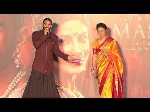 Event Uncut 'Bajirao Mastani' Tam Launches 'Malhari' Song