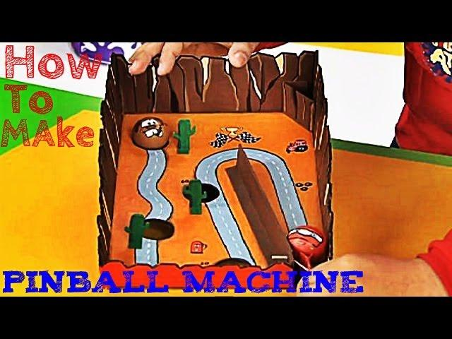 Art Attack - How To Make A Pinball Machine - Disney India Official