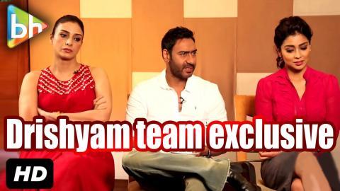 Exclusive: Ajay Devgn | Tabu | Shriya Saran's Interview On Drishyam | Rapid Fire | Kajol