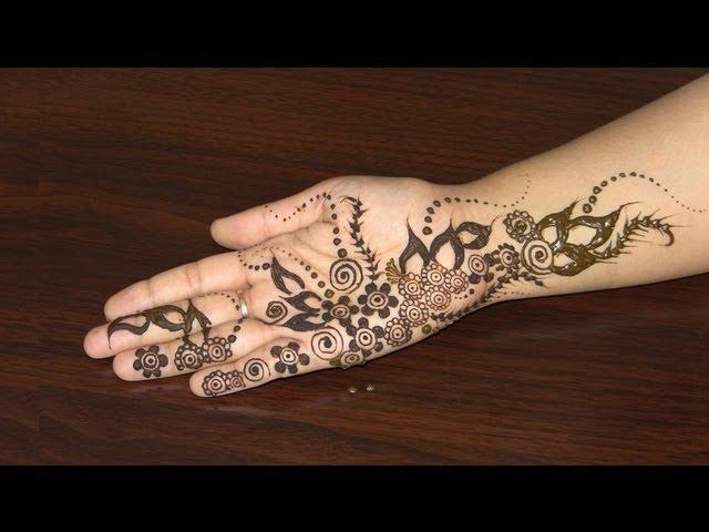 Diy Mehndi Designs : Diy best arabic mehendi design how to apply