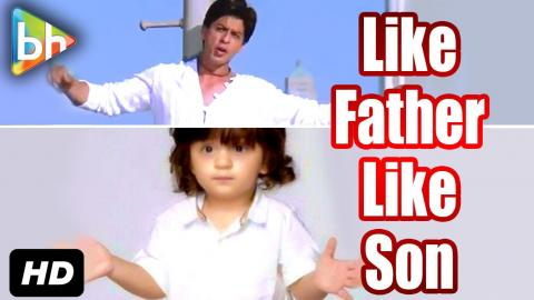 AbRam Khan Imitates His Father Shah Rukh Khan