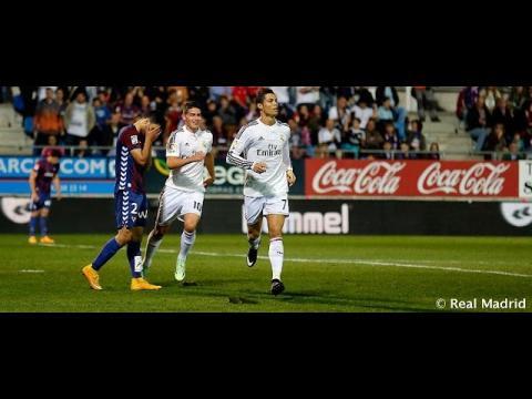 Cristiano Ronaldo's goals against Éibar / Los goles de Cristiano contra el Éibar
