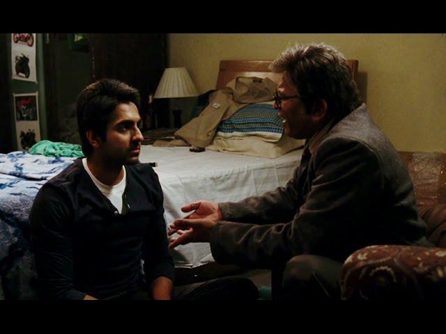 Annu Kapoor fails to convince Ayushmaan Khurrana