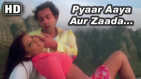 Pyaar Aaya Aur Zyada | Barsaat (2005) | Bobby Deol | Priyanka Chopra | Bipasha Basu | Filmigaane