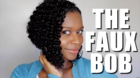 Protective Style | THE FAUX BOB