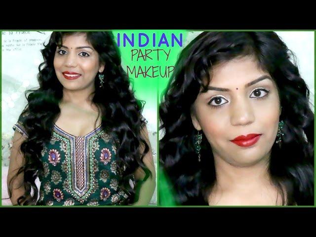 Indian Wedding Party Guest Makeup Tutorial SuperPrincessjo