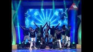 Iniya Cinematic Dance in Sundari Neeyum Sundaran Njanum Grandfinale