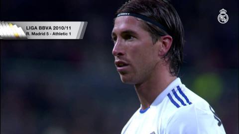 Sergio Ramos' four La Liga goals against Athletic Club!