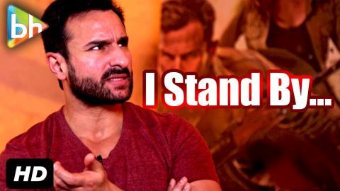 """""""I Don't Even Know If I Said I Don't Have Faith In Pakistan"""": Saif Ali Khan"""