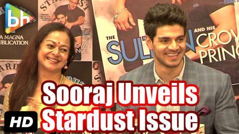 Sooraj Pancholi Unveils Latest Issue Of 'Stardust'