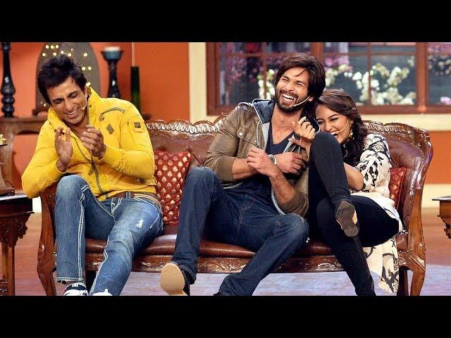 Shahid Kapoor Does 'Gandi Baat' On Comedy Nights With Kapil!