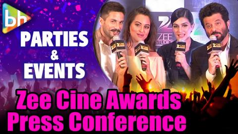 Shahid Kapoor | Sonakshi Sinha | Kriti Sanon At Press Conference Of 'Zee Cine Awards 2016'
