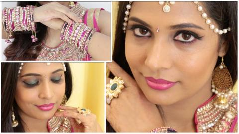 Get Ready With Me For Diwali   Diwali Makeup & Outfit   ShrutiArjunAnand