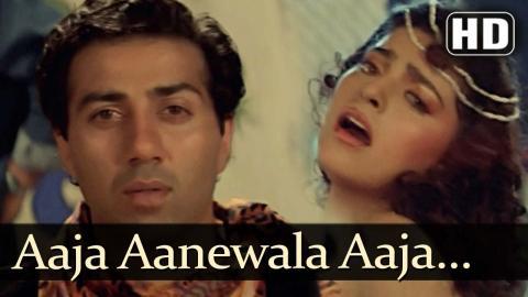Aaja Aanewala Aaja - Lootere Songs - Sunny deol - Juhi Chawla - Asha Bhosle