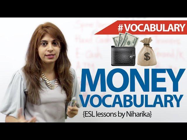 Money Vocabulary - Free English Lesson ( ESL)