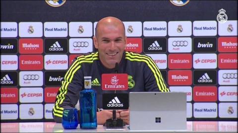 Rueda de prensa de Zidane | Granada-Real Madrid