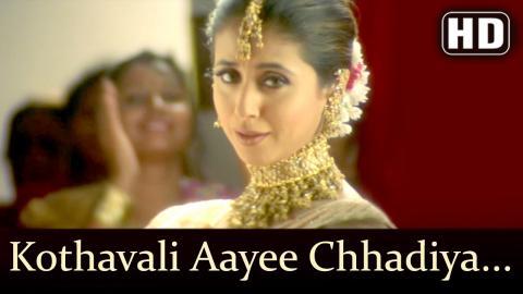 Kothavali Aayee Chhadiya   Dillagi Songs   Sunny Deol   Urmila Matondkar   Filmigaane