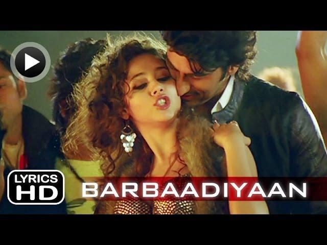 Barbaadiyaan - Song with Lyrics - Aurangzeb